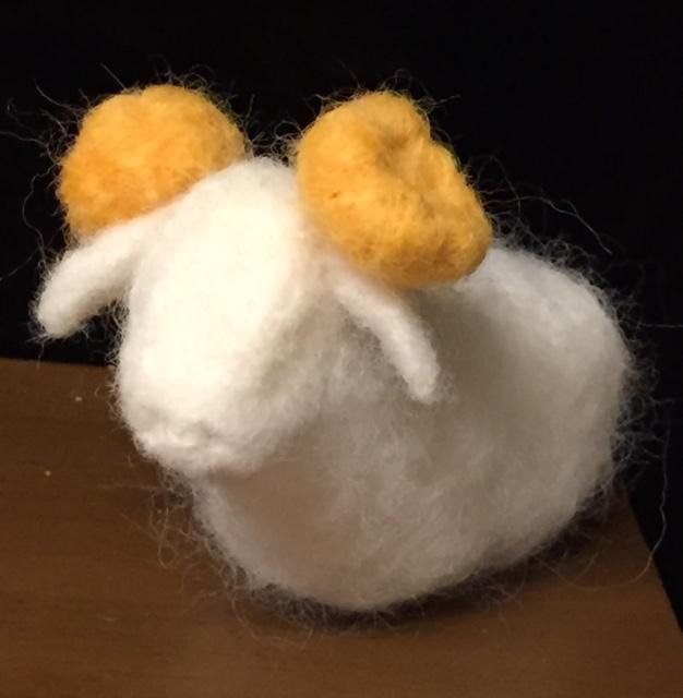 羊毛フェルト羊